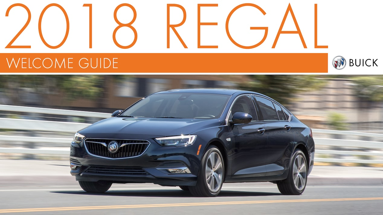 2018 REGAL WELCOME GUIDE COVER