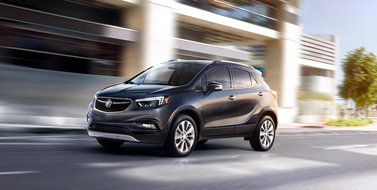 Background image for warranty content featuring the Buick Encore.
