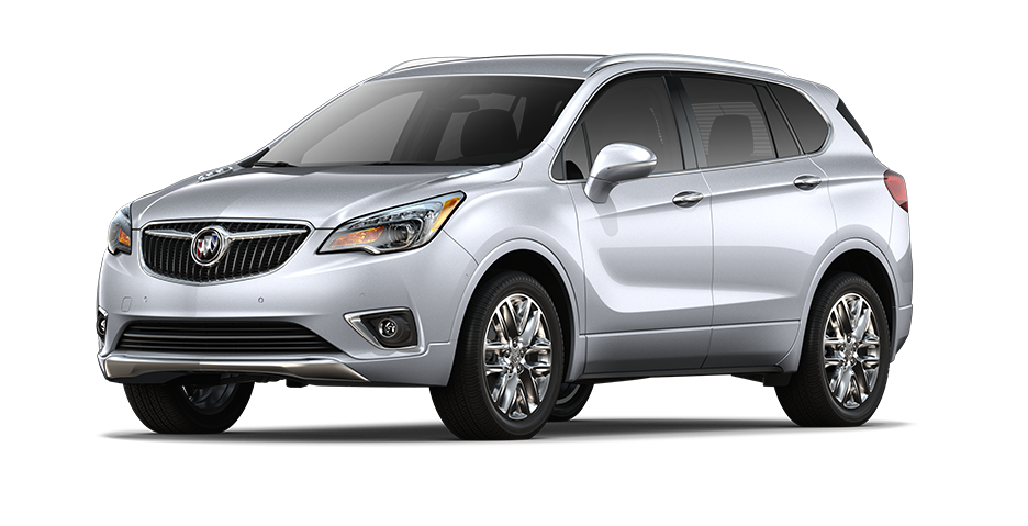 2019 Buick Envision Compact Luxury SUV in Galaxy Silver