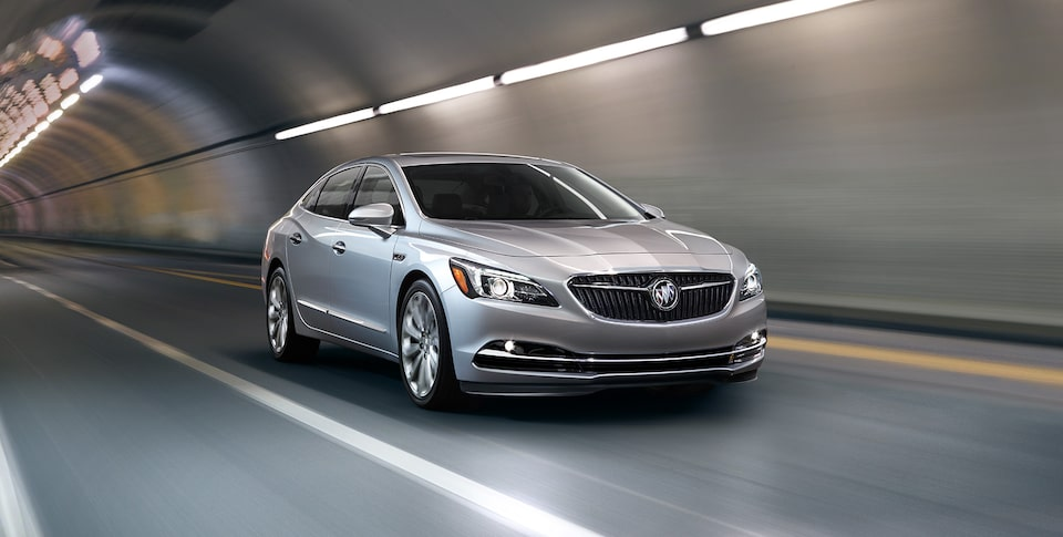 2019 Buick Lacrosse Luxury Sedan Front Angle View