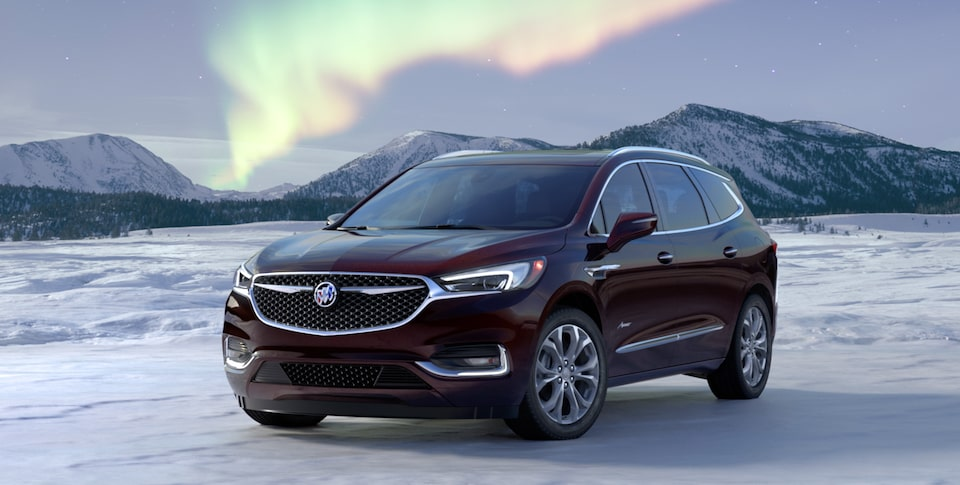 2020 Buick Enclave Luxury Mid-Size SUV Front Angle View