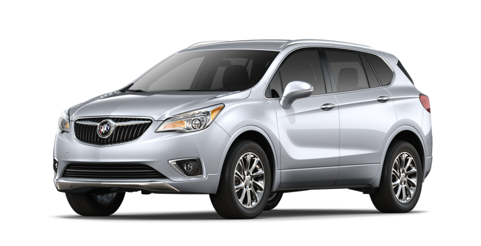 2019 Buick Envision Essence Compact Luxury SUV in galaxy silver