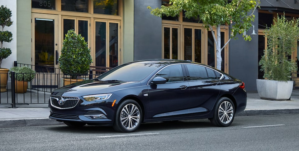 2020 Buick Regal Sportback Front Side Exterior