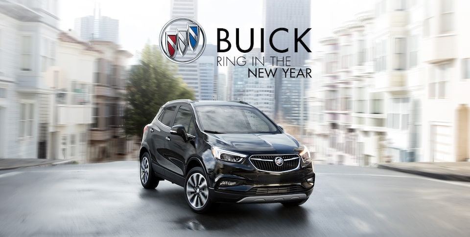 2020 Buick Encore Front Side View