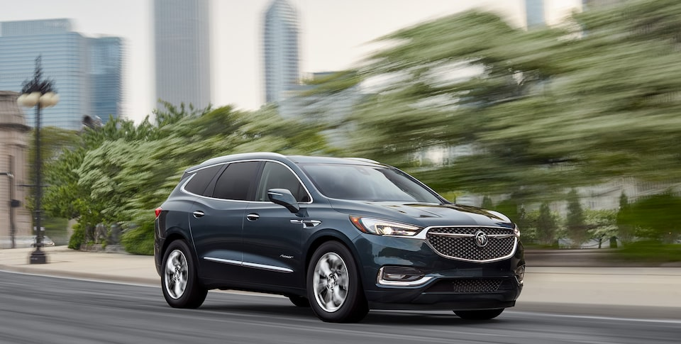2020 Buick Enclave Front Side Exterior