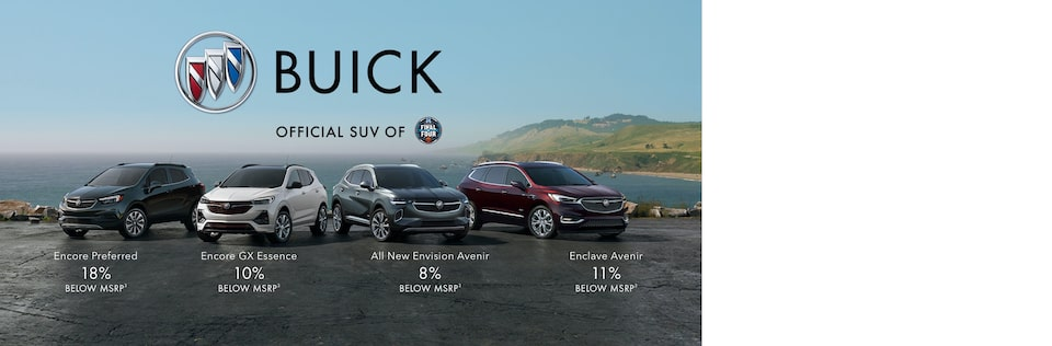 2021 Buick SUV Lineup | Official SUV of NCAA March Madness Final Four