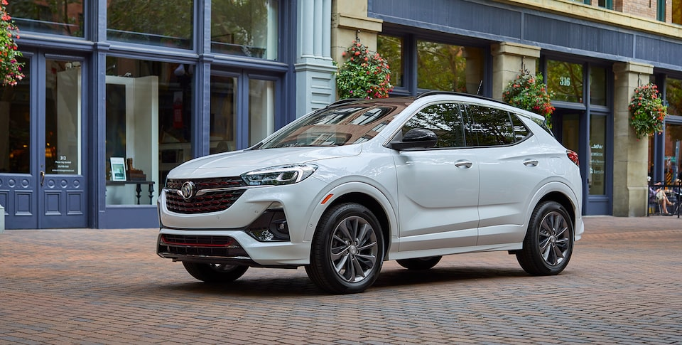 2021 Buick Encore GX Small SUV parked on street