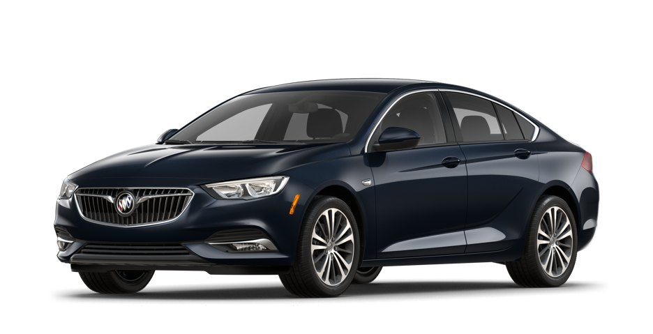 2018 Buick Regal Sportback Luxury Sedan in Dark Moon Blue