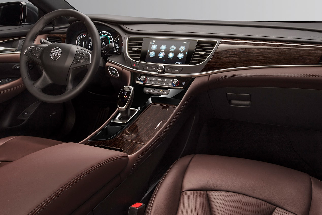 Interior Dash View of Buick Regal Avenir