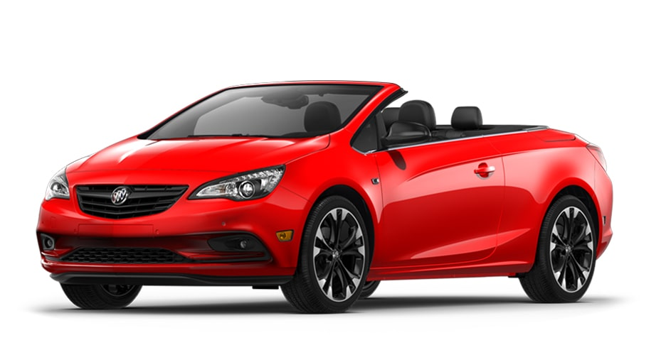 2019 Buick Cascada in Sport Red