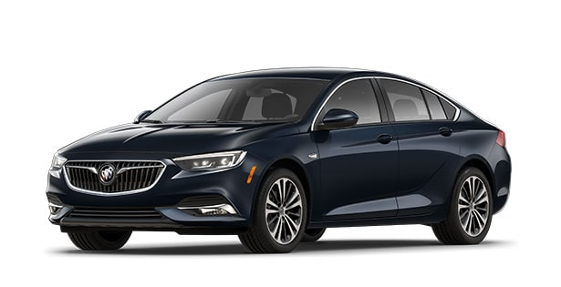 2019 Buick Regal Sportback in Dark Moon Blue Metallic