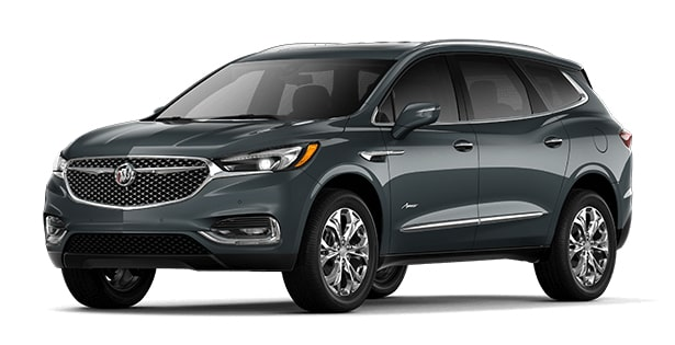 2019 Buick Enclave Avenir in Satin Steel Metallic