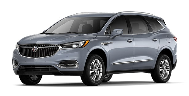 2019 Buick Enclave in Satin Steel Metallic