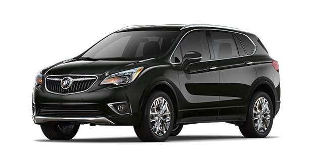 2019 Buick Envision in Ebony Twilight Metallic
