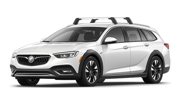 2019 Buick Regal TourX in White Frost Tricoat