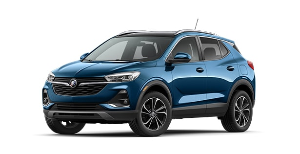 2020 Buick Encore in Deep Azure Metallic