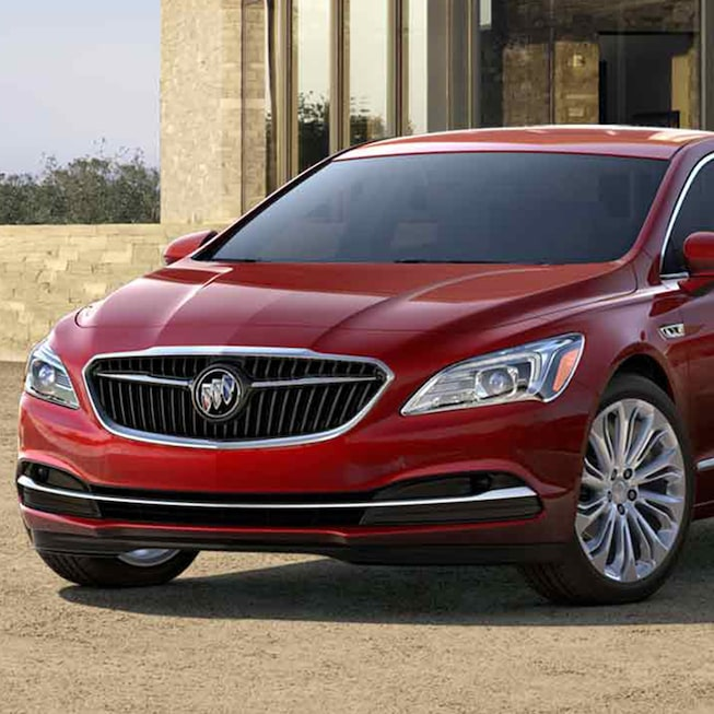 Image Of The Front Exterior 2017 Buick Lacrosse Full Size Luxury Sedan In