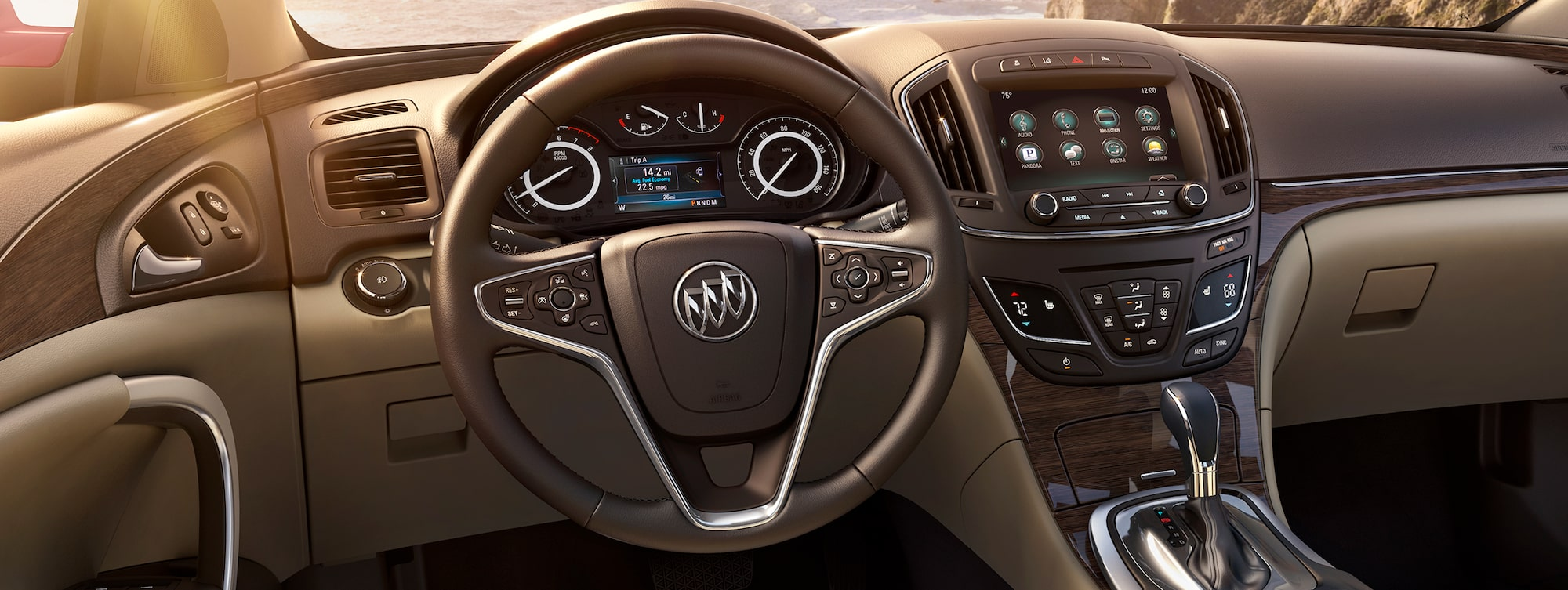 Masthead Image For The Page Detailing Interior Features Of The 2017 Buick  Regal Mid Size
