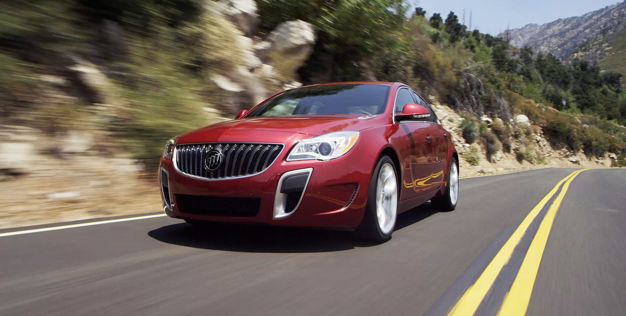 Click to watch a video about the GS edition of the 2017 Buick Regal mid-size luxury sedan.