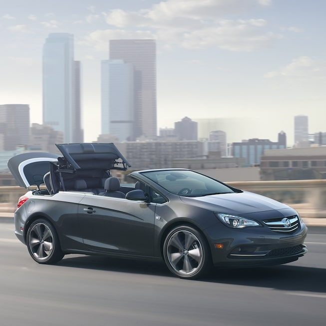 Exterior image of the 2017 Buick Cascada luxury convertible.