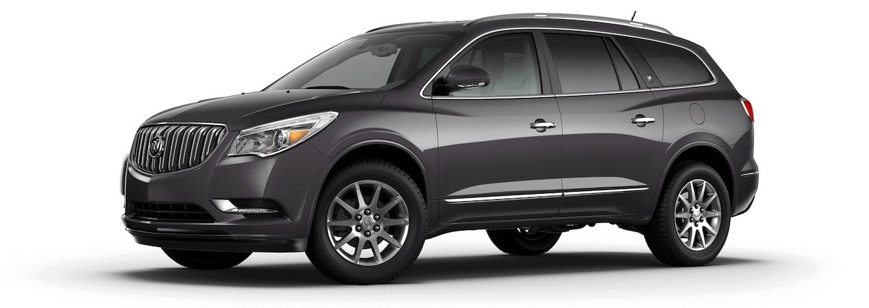 2017 Enclave mid-size luxury SUV in iridium metallic.