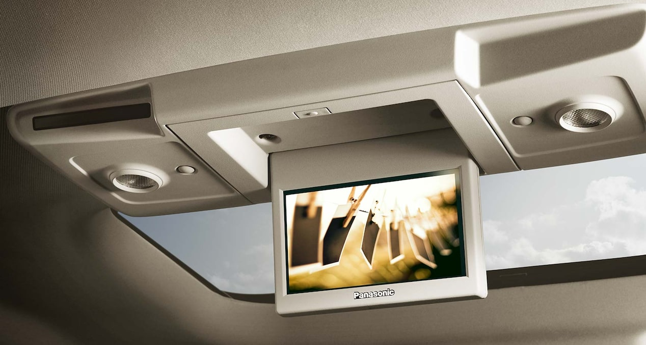 2017 Enclave mid-size luxury SUV entertainment system.