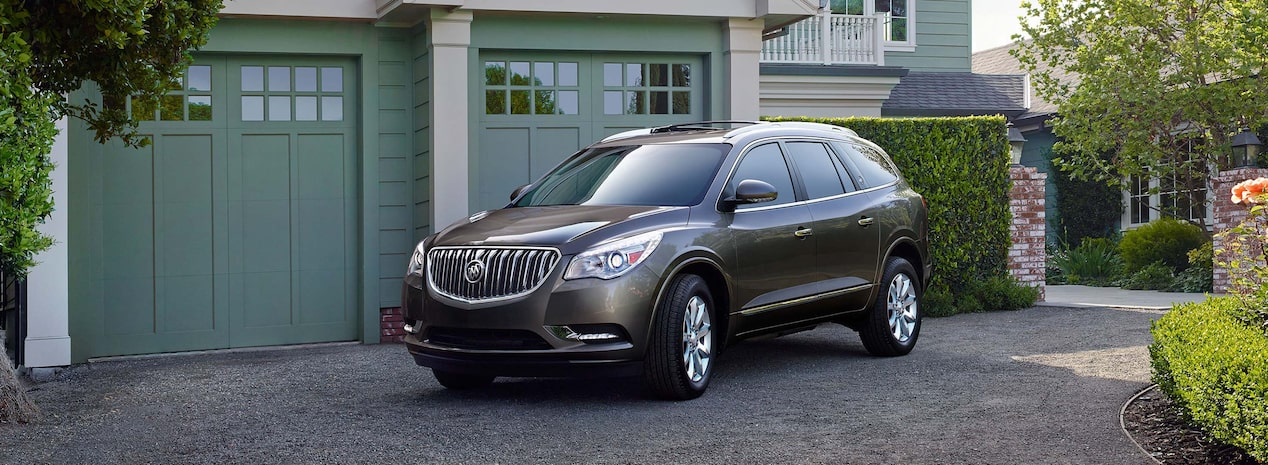 Photo showing 2017 Buick Enclave mid-size luxury SUV.