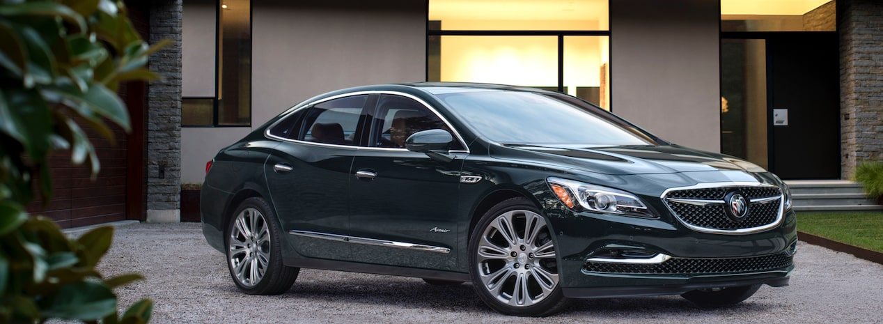 2018 LaCrosse Avenir full-size luxury sedan.