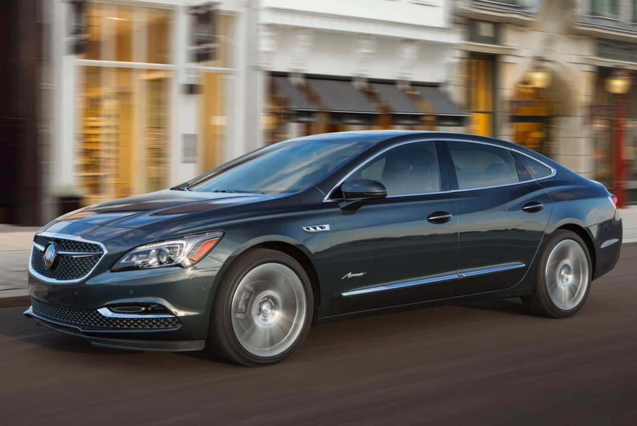 2018 LaCrosse Avenir full-size luxury sedan performance.