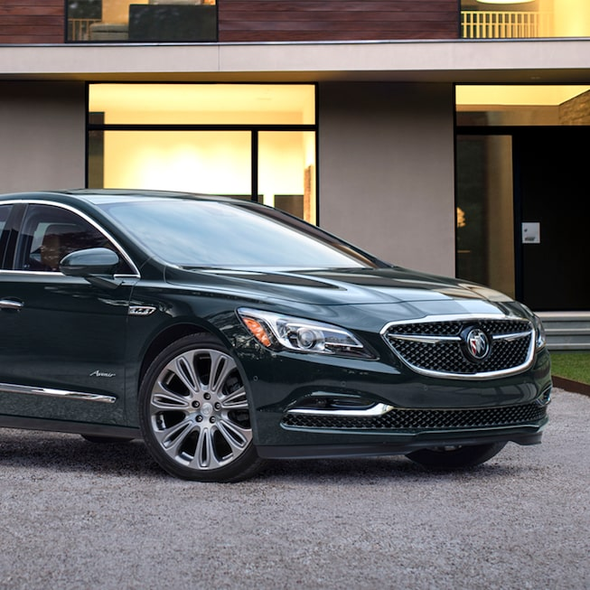 2018 LaCrosse Avenir full-size luxury sedan parked.