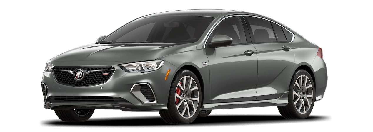 2018 Regal Gs Luxury Sedan Smoked Pearl Metallic