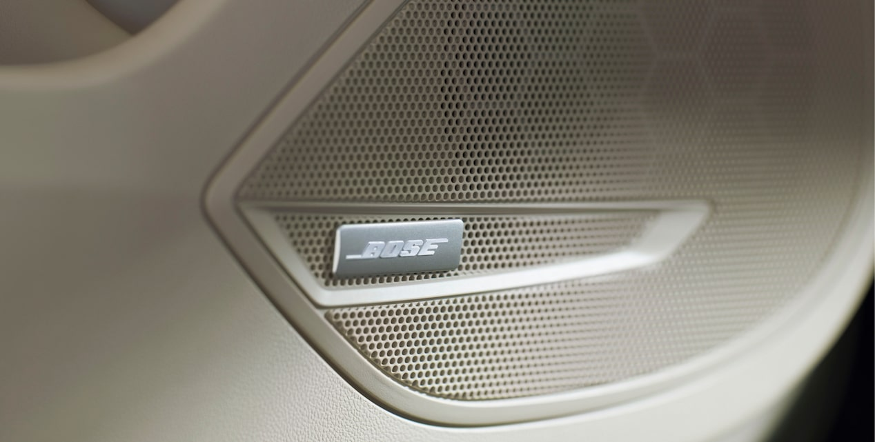 Image showing Bose Speakers in the Buick Regal Sportback mid-size luxury sedan