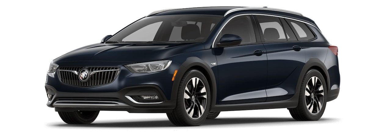 2018 Regal TourX Luxury Wagon Dark Moon Blue Metallic