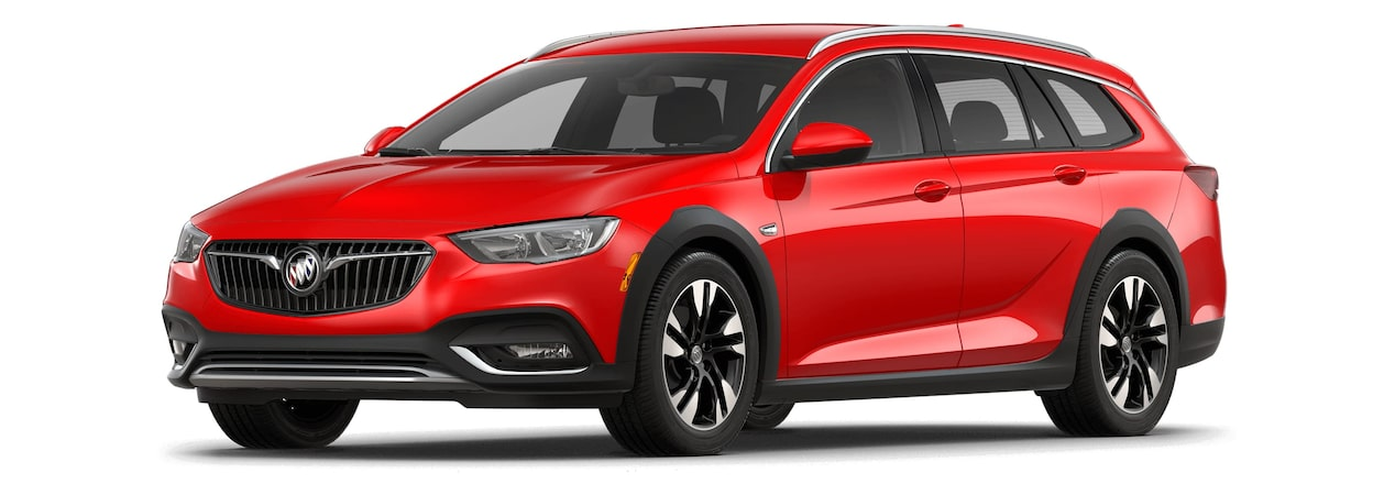 2018 Regal TourX Luxury Wagon Sport Red