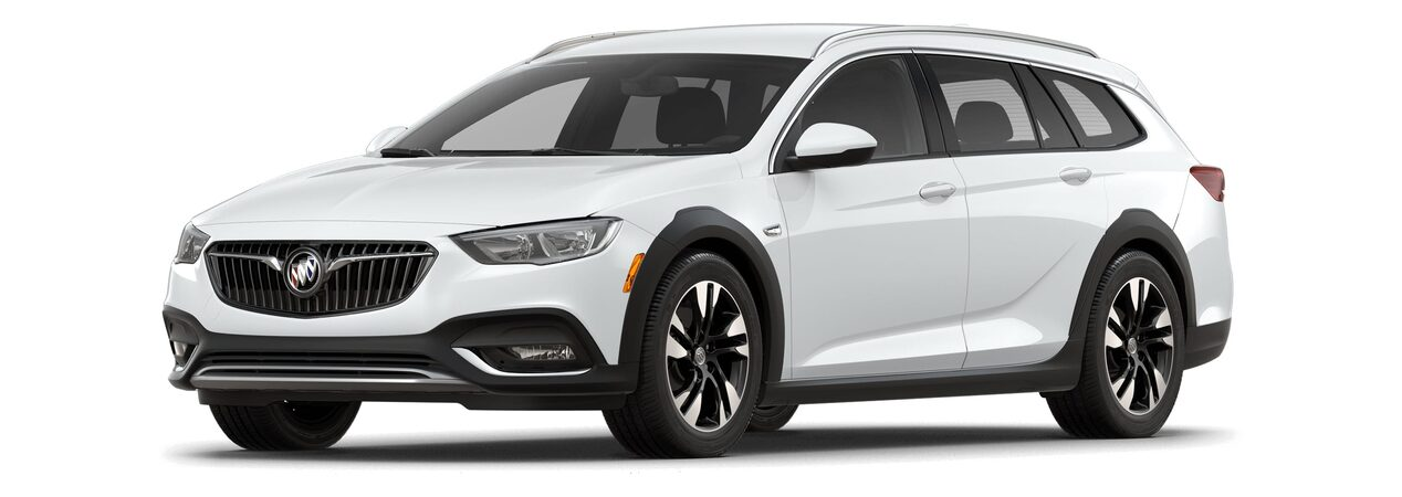 2018 Regal TourX Luxury Wagon Summit White