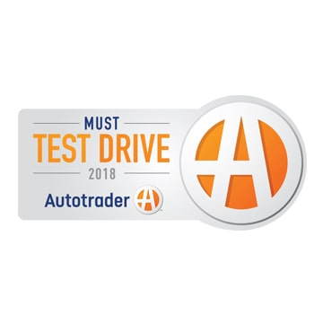 2018 Autotrader Must Test Drive Award