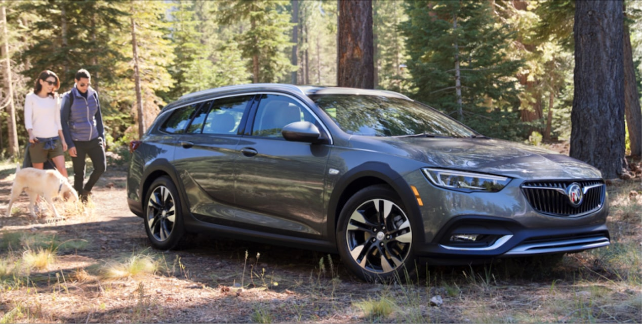 Image Of The 2018 Buick Regal Tourx Luxury Wagon