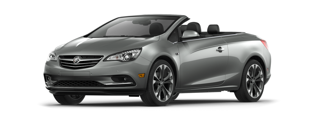 Image of the 2018 Buick Cascada luxury convertible in smoked pearl metallic.