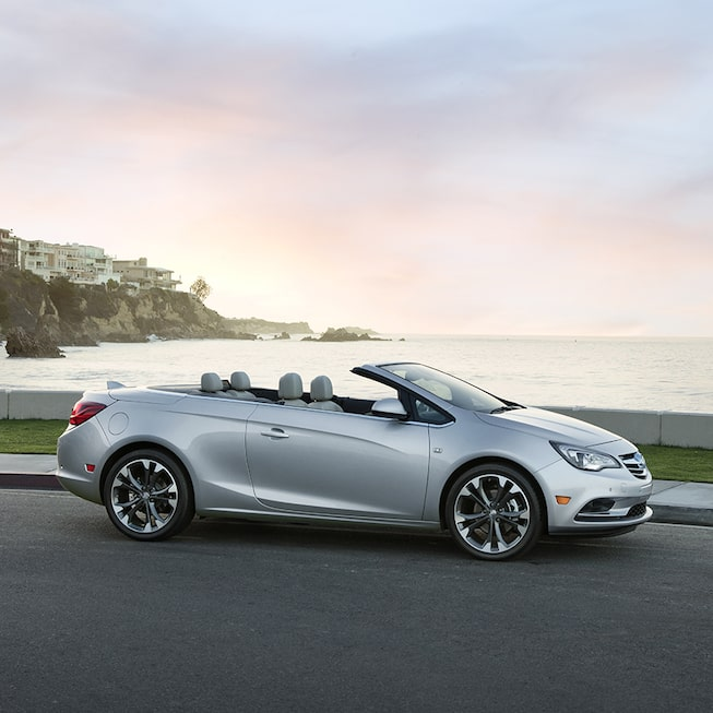 Exterior image of the 2018 Buick Cascada luxury convertible.