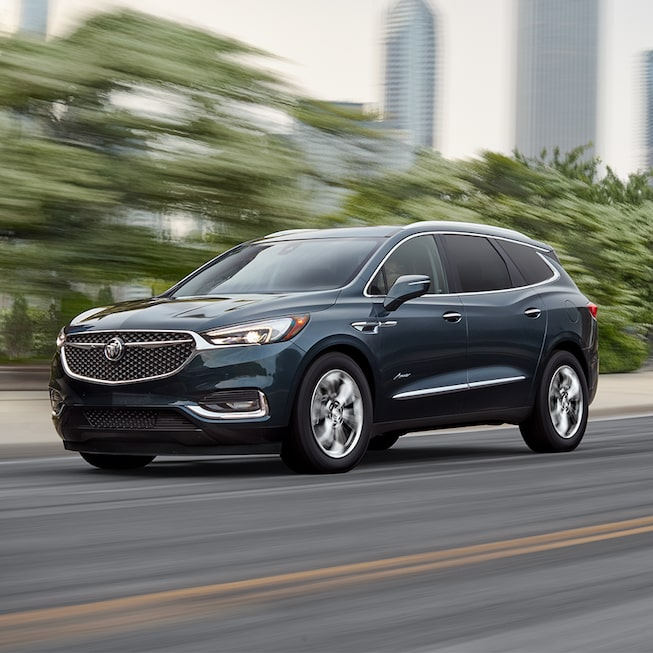 Gallery image of the 2018 Buick Enclave Avenir mid-size luxury SUV.