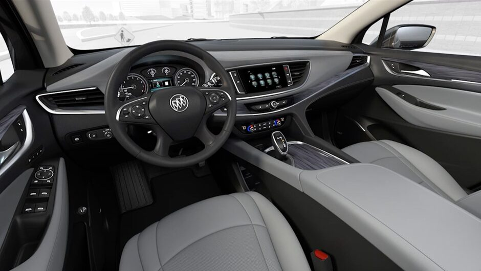interior features 2018 enclave mid size luxury suv buick. Black Bedroom Furniture Sets. Home Design Ideas