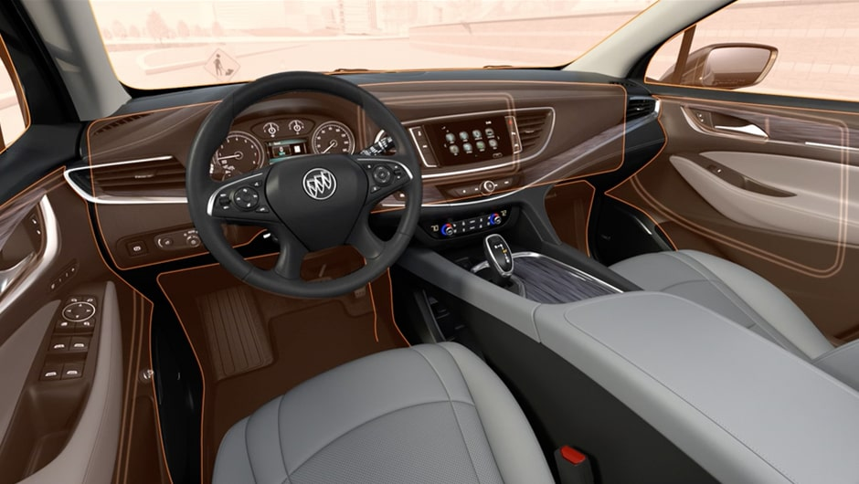 Interior Features: 2018 Enclave Mid-Size Luxury SUV | Buick