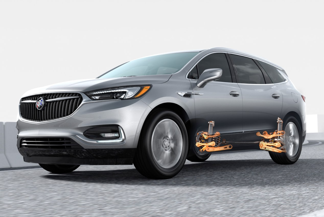 2018 Enclave mid-size luxury SUV performance 5 link.