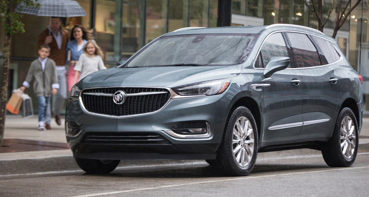 2018 Enclave mid-size luxury SUV performance responsive.