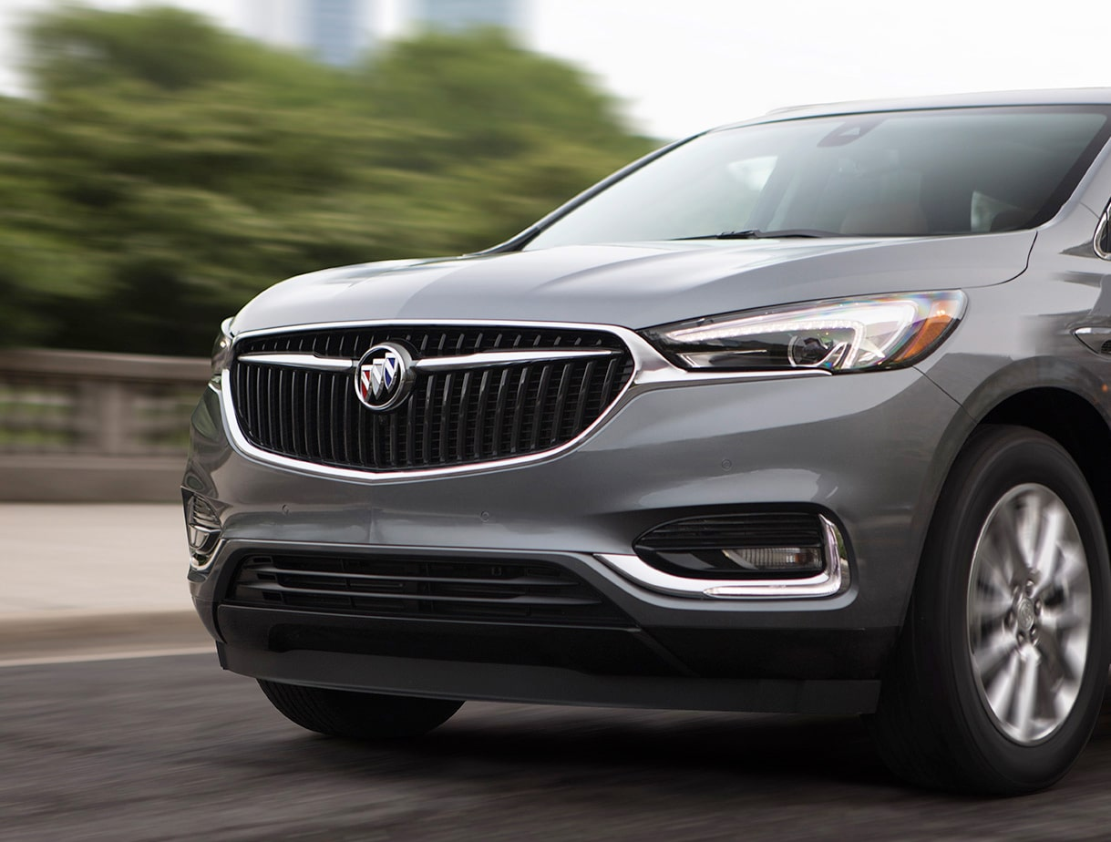 2018 Enclave mid-size luxury SUV performance start stop.
