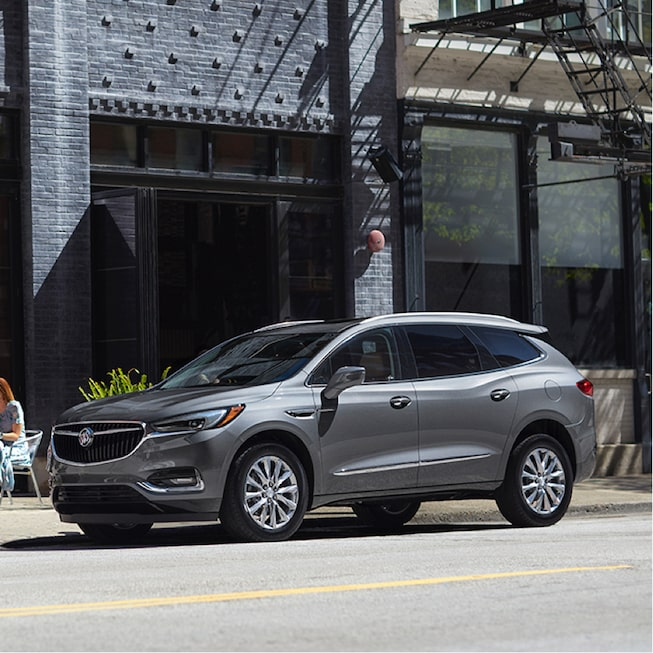 2018 Enclave Mid Size Luxury Suv Exterior