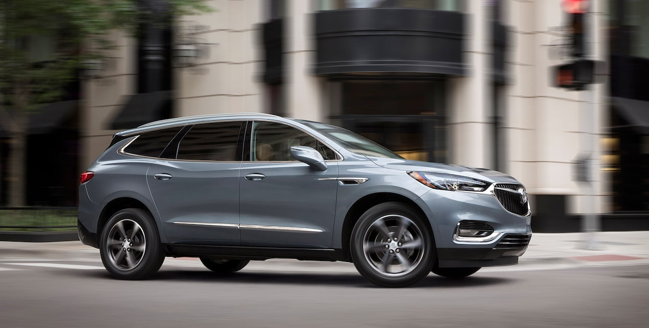 2018 Enclave mid-size luxury SUV offers.