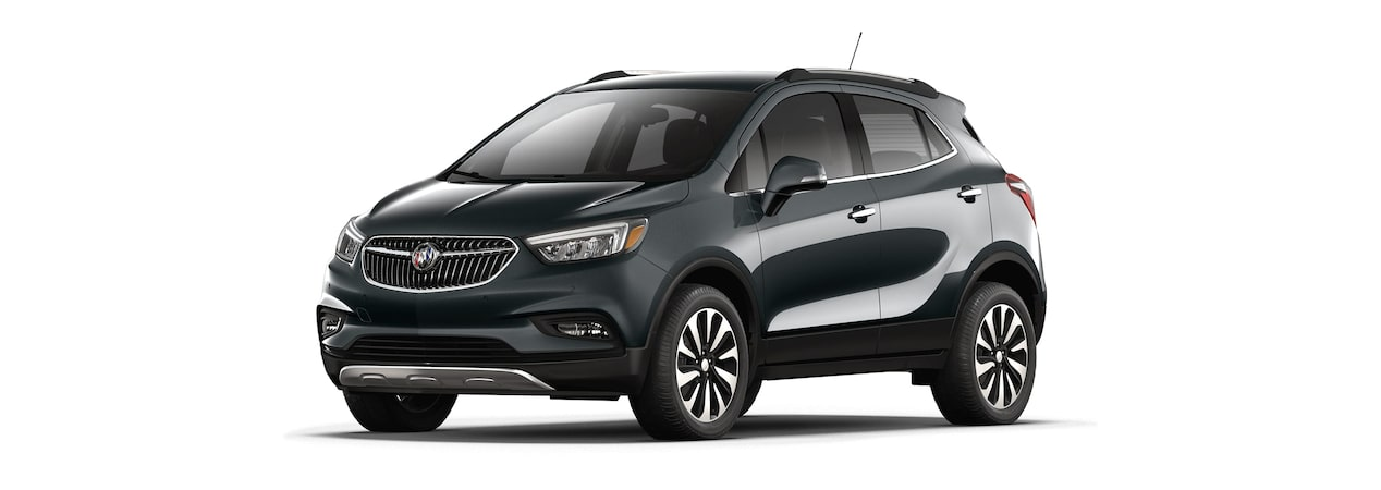 2018 Encore in graphite gray metallic.
