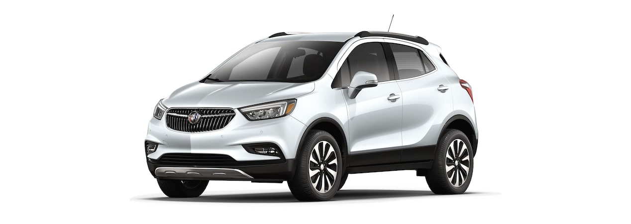2018 Encore in quicksilver metallic.
