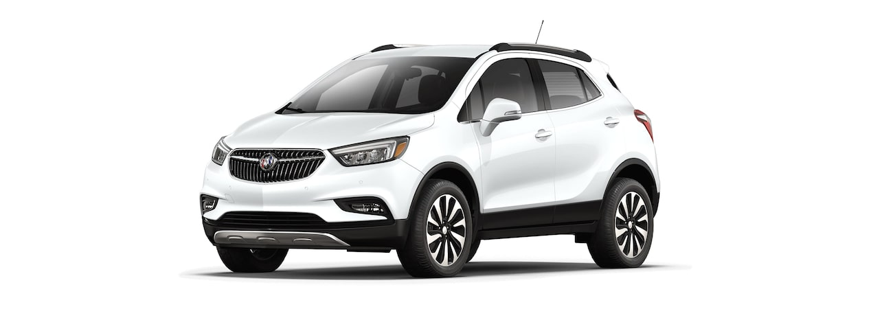 2018 Encore in summit white.